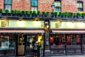 Dining in Dublin